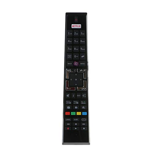 xiaoyao24 RC-4995 - Telecomando TV compatibile per Tele-Fun-Ken, Edenwood, Hyundai ED2400HD ED3905HD