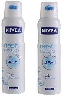 Nivea Fresh Natural Deodorant(150 ml) (Pack of 2)