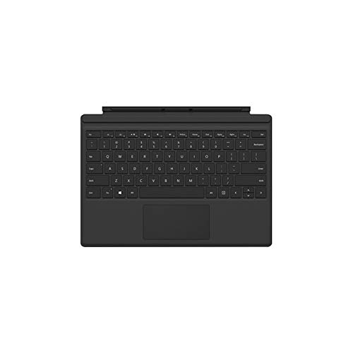 Microsoft Surface Keyboard Backlit Black for Surface Pro 3, 4 & 2017 HHA-00004