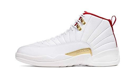 Jordan Air XII (12) Retro (FIBA) White/University Red
