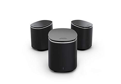 Mercku Mesh WiFi System Best Router Networkfor Whole HomeInternetWireless Coverage up to 6,000 sq. ft. Compact Plug-in Design ft Wi-Fi Extenders Automatic Connection The Swarm 3 M2 Routers