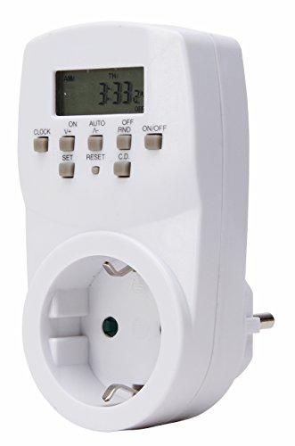 Kopp 195402074 Zeitschaltuhr elektronisch weiß