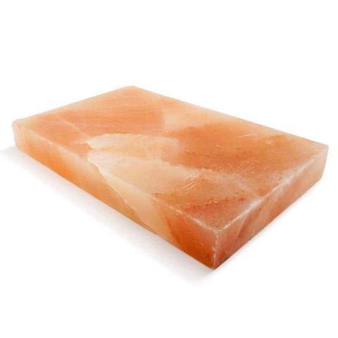 Salz Grillsteine, Himalaya Salzstein zum Grillen 20x30x4, BBQ