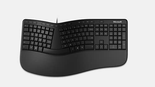 Microsoft Teclado LXN-00003 Ergonómico USB Español Color Negro