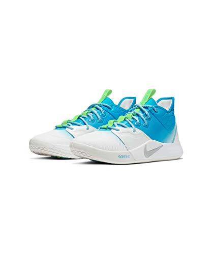 Nike(ナイキ) PG ポール・ジョージ AO2608-005 PG3 EP (プラチナティント/ライトカレントブルー/ライムブラ...