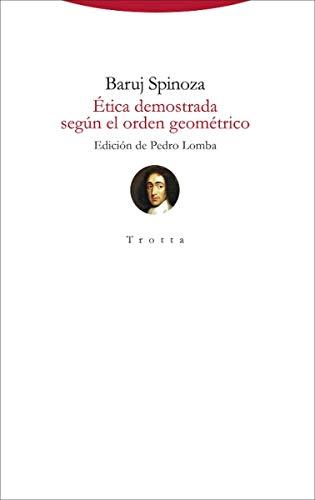 Ética demostrada según el orden geométrico: (edición bilingüe) (Torre del Aire)