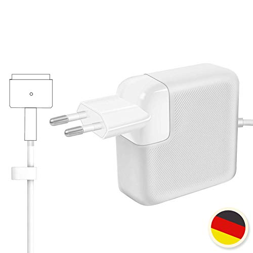 2014 2017 Modelos 2013 AndMore Cargador Compatible con Macbook Air MacBook Air 11 13 Pulgadas A1466//A1465//A1436//A1435 45W Adaptador MagSafe 2 para Macbook Air 2015 Mediados 2012