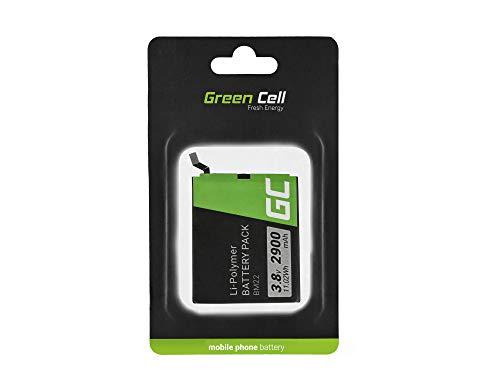 Batería de repuesto interna Green Cell BM22 compatible con Xiaomi Mi 5 Mi5 Pro | Li-Polymer | 2900 mAh 3.8 V | Batería de reemplazo para teléfono móvil del smartphone | Recargable