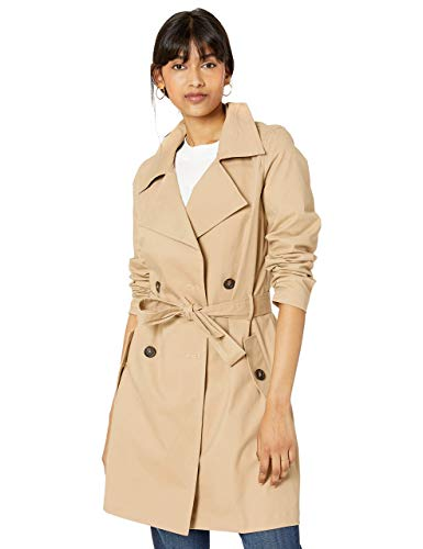The Drop Elisa Trench Coat Donna, Cachi, XS