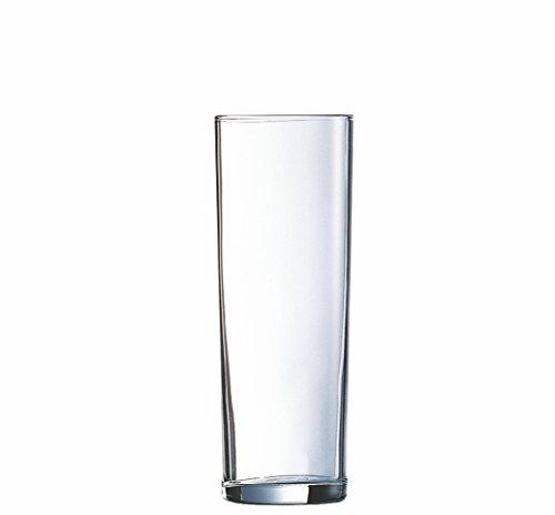 TableRoc 700320 Kölner Stange Bierglas, 260 ml, mit Füllstrich bei 0,2l, Glas, transparent, 12 Stück