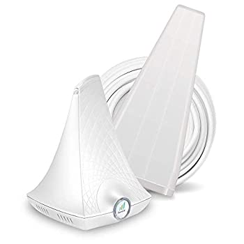 SureCall FlareDB+ Cell Phone Signal Booster for Working from Home | Boosts Verizon AT&T T-Mobile | Integrated Indoor Antenna for Easy Install | Covers up to 3500 sq ft White  SC-FlareDB