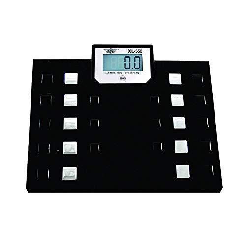 My Weigh XL Digitale Personenwaage, hohe Kapazität, mit Sprachausgabe (nicht in deutscher Sprache)