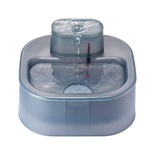 HoneyGuaridan Fontana Automatica d'Acqua per Cani e Gatti 6L con Pompa Ultra-silenziosa, Distributore di Acqua per Cani di Taglia Medio-Grande e Diversi Animali - Sistema di filtraggio quadruplo