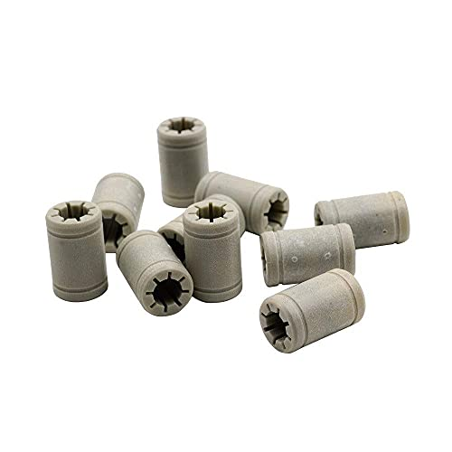Neigei For TL-Smoother12pcs Plastic LM8UU 8 Mm Linear Ball Bearing For 3D Printer Cnc Accessories Same As RJ4JP-01-08 RJ4JP 01 08 For Anet Bearing
