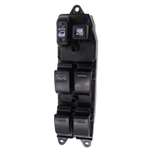 Xiyuncao Botón de Interruptor de Ventana eléctrica de Coche, para Toyota RAV4 Corolla Land Cruiser Vios Interruptor de Control de Ventana eléctrica 84820-12340 8482012340