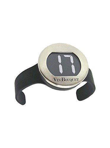 Vin Bouquet FIC 004 - Termómetro Digital Botellas Vino, Medidor de Temperatura de Vino