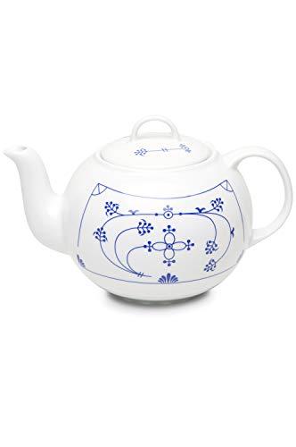 CUP+MUG Indisch Blau Teekanne 1l rund