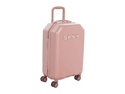 DKNY 20' Metal Logo Hardside Upright Rose One Size