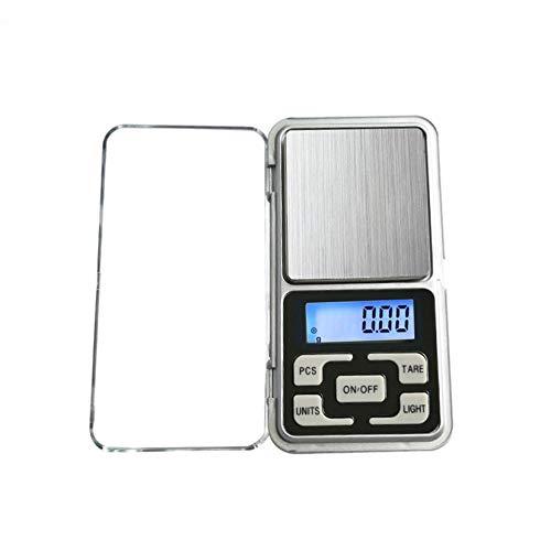 Küche Taschenwaage Mini Digital Taschen Skala mit  LCD Display für Kochen, Kaffee, Droge,, Tee, Schmuck (0.01-200g )