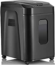 $1405 » Paper shredder Cross Cut Paper Shredder, Paper Shredder 120 Sheets 60 Minutes Fully Automatic Level 4 confidentiality, inf...
