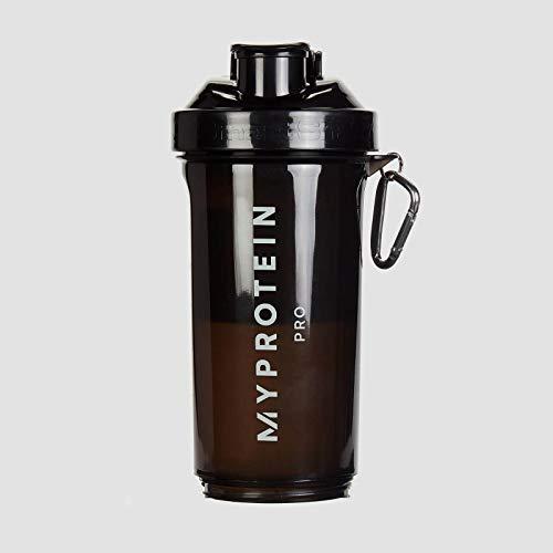 MyProtein Bottiglia Smartshake Shaker Slim,Nero , 500 g