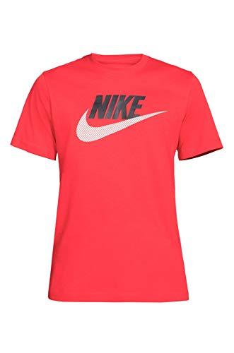 Nike - Men TS col 657 DB6523. rojo/negro XS
