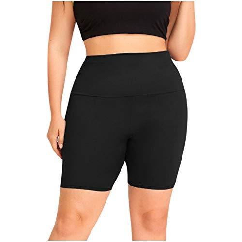 RODMA Femmes Couleur Unie Pantalon De Yoga Creux Short Legging Taille Haute Stretch Leggings Tight Sports Shorts Pantalon Court De Yoga