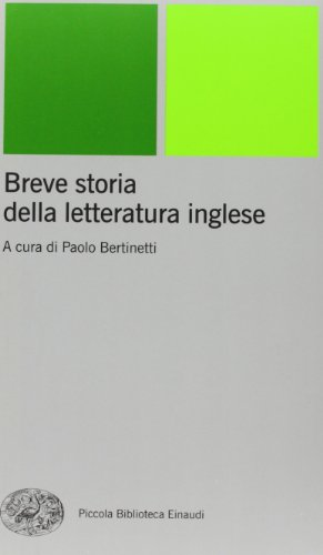 Breve storia della letteratura inglese