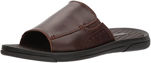 Unlisted by Kenneth Cole Men's Unlisted Pacey Sandal B Slide, Brown, 9 M US