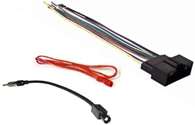 Radio Stereo Dash Kit Combo Single DIN Antenna Adapter MB84 Wire Harness
