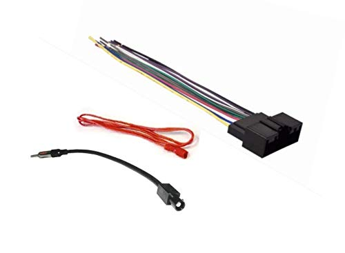 ASC Audio Car Stereo Radio Wire Harness and Antenna Adapter to Install an Aftermarket Radio for some Acura and Honda Vehicles Compatible Vehicles Listed Below Other