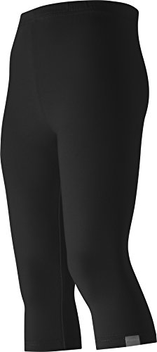 Playshoes Mädchen Legging Capri verschiedene Farben, Oeko-Tex Standard 100, Gr. 104, Grün (grün 29)