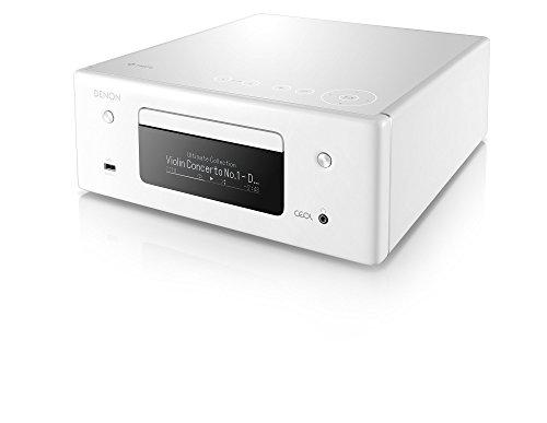 デノン Denon RCD-N10 ネットワークCDレシーバー HEOS/ハイレゾ対応 ホワイト RCD-N10-W
