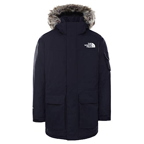 THE NORTH FACE M Recycled McMurdo Jacket Blau, Herren Daunen Isolationsjacke, Größe S - Farbe Aviator Navy