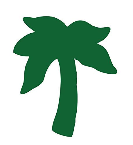 Palm Tree Tanning Stickers 1000 Ct Roll