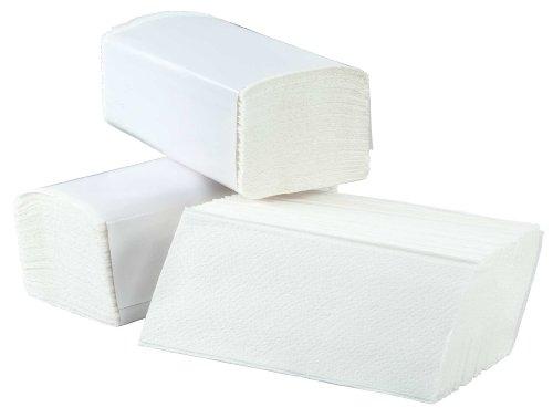 AIR-WOLF Papierhandtücher, hochweiß, Serie M, 240 230 mm, 1 Karton á 15 Packungen
