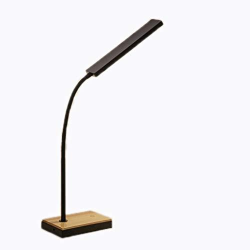 Binn Lámpara de Escritorio Led El Cuidado de los Ojos, lámparas de Mesa, LED táctil de atenuación de lámpara de Escritorio, lámpara de Mesa portátil, con Puerto USB, for los niños Aprender a Escribir