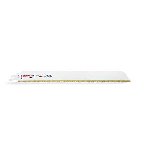 Lenox tools 2110012110GR - 304 mm, 10 tpi poder oro arco sabre hoja de sierra de metal grueso (5 piezas)