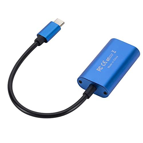 balikha Tipo-C Adaptador USB C a HDMI Tarjeta de Captura de Video Dispositivo 1080P Compatible para teléfono Oficina Transmisión en Vivo Transmisión en Vivo