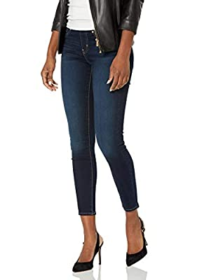 Signature by Levi Strauss & Co. Gold Label Women's Totally Shaping Pull-On Skinny Jeans, Immaculate, 8 Medium