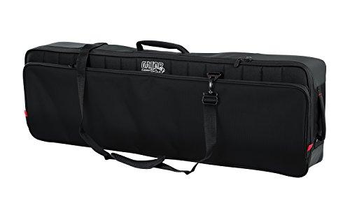 Gator Cases Pro-Go Ultimate Keyboard Gig Bag with Removable Backpack Straps; Fits Slim 61-Note Keyboards (G-PG-61SLIM)