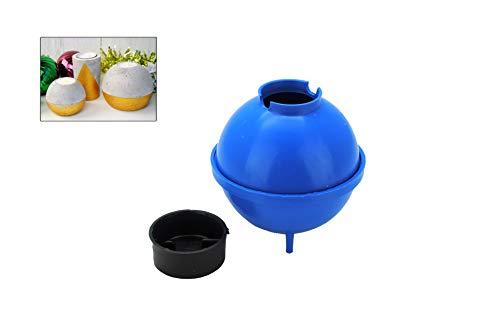 Proops Runde Kugel 7,6 cm Durchmesser Betonform mit Teelichthalter, DIY (S7845)