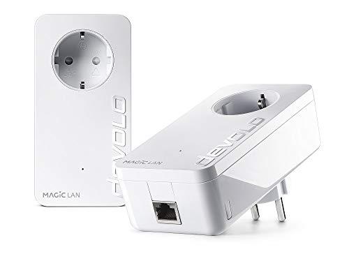 Devolo Magic 1 LAN Starter Kit (1200Mbit, Powerline, 2X GbitLAN, Heimnetz)