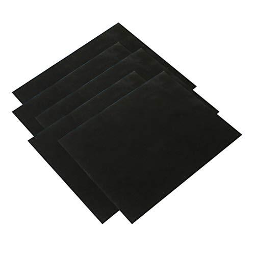 UPKOCH 5pcs Grillmatte hitzebeständig Ofenmatte antihaft Backpapier Nicht Klebend Grillen für Barbecue Gasgrill Holzkohlegrill Elektrogrill Backofen Mikrowelle (Platzform)