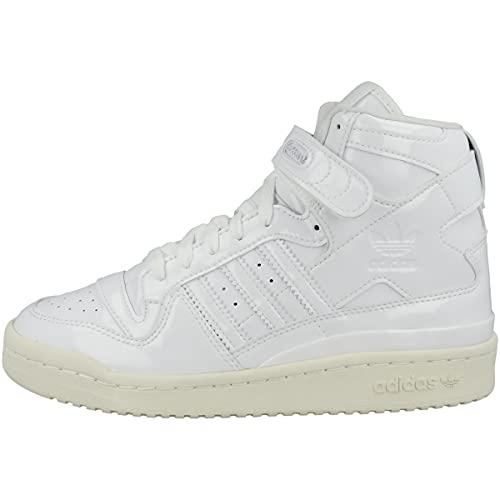 adidas Zapatillas altas para mujer High Forum 84 High, Cloud White Off White Core Black G58066, 38 2/3 EU