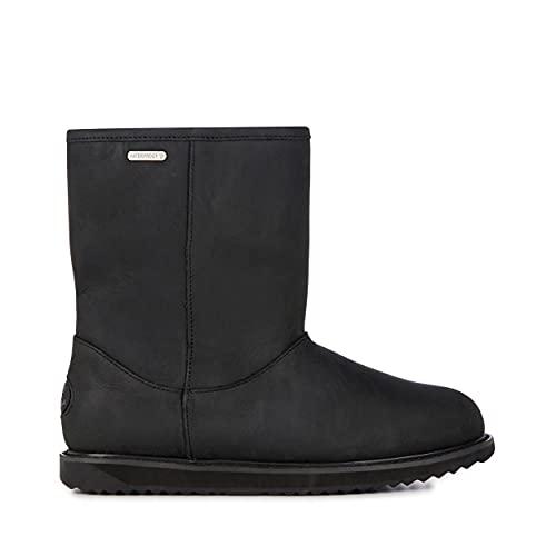 EMU Australia Paterson Classic Leather Lo Womens Waterproof Sheepskin Boots