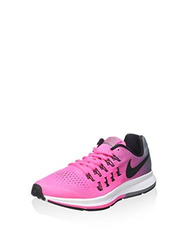 Nike Zoom Pegasus 33 (GS), Zapatillas de Deporte para Niñas, Rosa (Rosa (Pink Blast/Black-Cl Grey-White), 38 EU