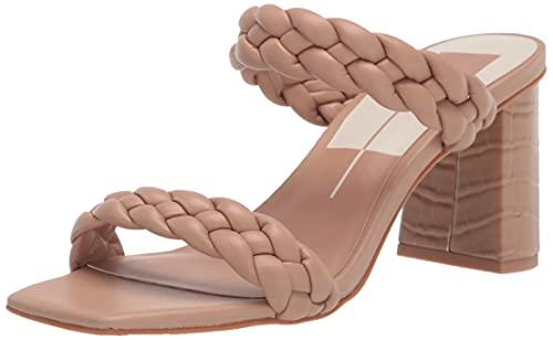 Dolce Vita Women's PAILY Heeled Sandal, CAFÉ Stella, 10