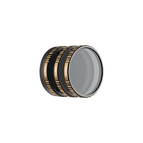 PolarPro Vivid Filter 3-Pack for The DJI Osmo Action (Magnetic HotSwap Filter System)