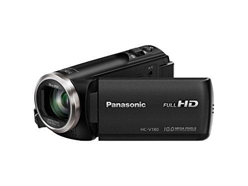Panasonic HC-V180EB-K Camcorder with Full HD Recording